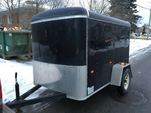 2012 5x8 enclosed cargo trailer