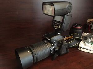 Nikon D5100 DSLR W/ Lenses and Accessories