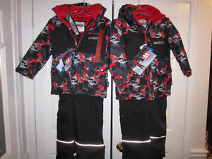"Snowsuits, ""Monster"" Boys size 7 (2) & Size 8, BNWT"