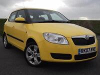 Skoda Fabia 2, 1.2 HTP 12v 5 door BLUETOOTH RADIO, NEW SHAPE !