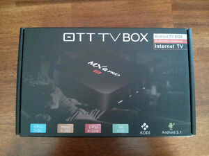 Quad Core Kodi 17.1 android 6 Loaded tv box Free Delivery/Setup