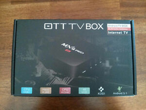 Quad Core Kodi 17.3 android 6 Loaded tv box Free Delivery/Setup