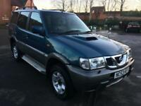 2003 53 NISSAN TERRANO 3.0DI SVE TD 4X4 7 SEATER LEATHER LOW 139K STUNNAPX-SWAPS
