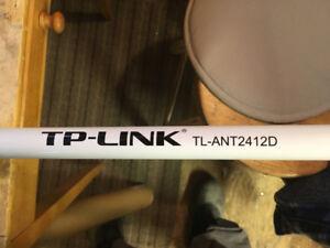 Antenne Wifi TP-Link pour extérieur avec accessoires