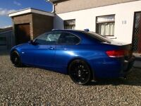 2008 BMW 320i E92 Coupe blue - 80000 miles
