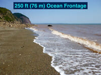 Furnished oceanfront cottage in Alma, NB