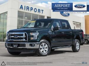 2015 Ford F-150 XLT 4X4 with only 55,839 kms