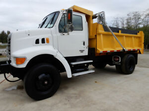 2006 Sterling L7500 Single Axle Dump Truck