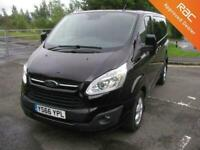 2016 Ford Transit Custom 2.0 TDCi 130ps Low Roof Limited Van - NO VAT PANEL VAN