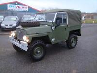 1980 LAND ROVER LIGHTWEIGHT 2.25 PETROL NEW GALV CHASSIS
