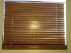 Wooden Blinds - 9 pieces