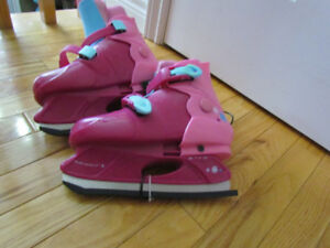 Selling 2 pairs of girls adjustable skates - $10 each OBO