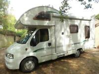 SWIFT BESSACARR E425 Fiat DUCATO 15 JTD MWB Motorhome for sale