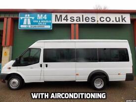 Ford Transit 135ps,17st minibus,a/con,tacho,psv