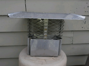 STOP.Squirrels in your chimney 8 x 12 inch standard chimney cap