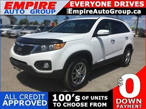 2011 KIA SORENTO LX * AWD * BLUETOOTH * SAT RADIO SYSTEM * LOW K