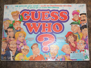 Guess Who 1996-Large Card version London Ontario image 1