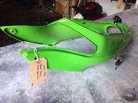 1998 ZX600 seat fairing with seat lock and keys