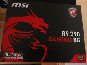 NEW (unopened) MSI R9 390 8GB Graphic Card