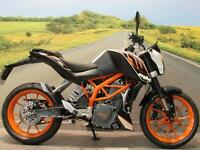 KTM 390 Duke ABS '64 Reg **LED INDICATORS, ABS, LOW MILEAGE**
