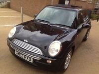 MINI Cooper 2003 1.6** 12 MONTH MOT ** PANORAMIC ROOF**4 BRAND NEW TYRES*CLEAN CAR*2 KEYS* HPI CLEAR