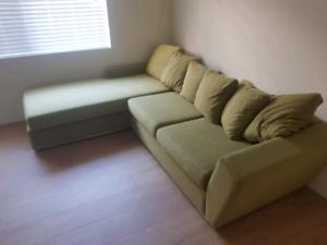 L shape lounge