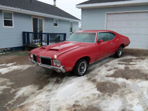1971 Olds 442 PROJECT car