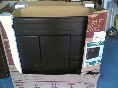 Espresso Finish Vanity - NIB ~ Very Nice Bathroom Dark Espresso Finish VANITY CABINET (36