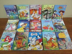 15 Petits livres de la collection Disney