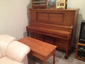 REDUCED Antique Strauch Bros Player Piano with rolls