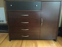 Dark Wood Dresser for sale