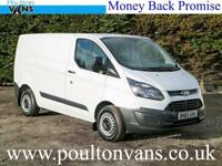 2015 (65) FORD TRANSIT CUSTOM 290 ECO-TECH L1H1 SWB PANEL VAN 100PS, Medium