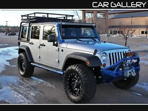 2011 Jeep Wrangler Unlimited CUSTOM w/BlueTooth, Satellite Radio