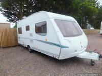 Abbey 415 gts caravan for sale fixed bed