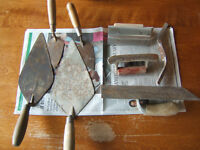 various masonry tools