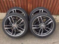 """Audi VW caddy 18"""" s3 alloy wheels new"""