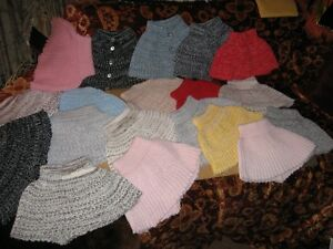 MANY MACHINE KNITTED NECK WARMERS $1 EACH