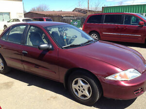 **2001 Chevy cavalier As is $1000 OBO