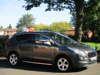 Peugeot 3008 Crossover 1.6HDi ( 110bhp ) FAP EGC Exclusive AUTOMATIC