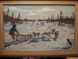 William Bonnetplume's original painting
