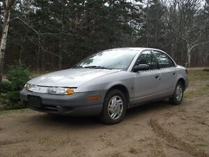 """READY FOR WINTER"" 2000 Saturn S-Series Sedan"