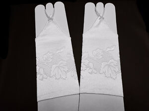 Little Princess Gloves: White, Yellow, Gold