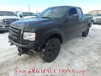 2012 FORD F150 S/CAB XLT 4WD 5.0L