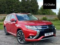2018 Mitsubishi Outlander 2.0h 12kWh 5hs CVT 4WD (s/s) 5dr Automatic SUV Petrol