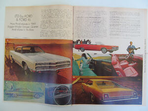 Ford Brochure 1969