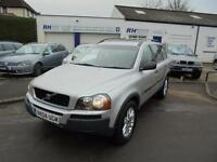 VOLVO XC90 2.4 D5 SE AWD AUTOMATIC GEARTRONIC 4WD DIESEL 04reg BLACK LEATHER