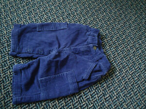 Baby Size 3-6 Months Corduroy Dark Blue Pants Kingston Kingston Area image 1