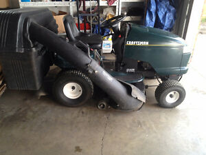 Craftsman Riding Lawn Mower 22 Hp OHV