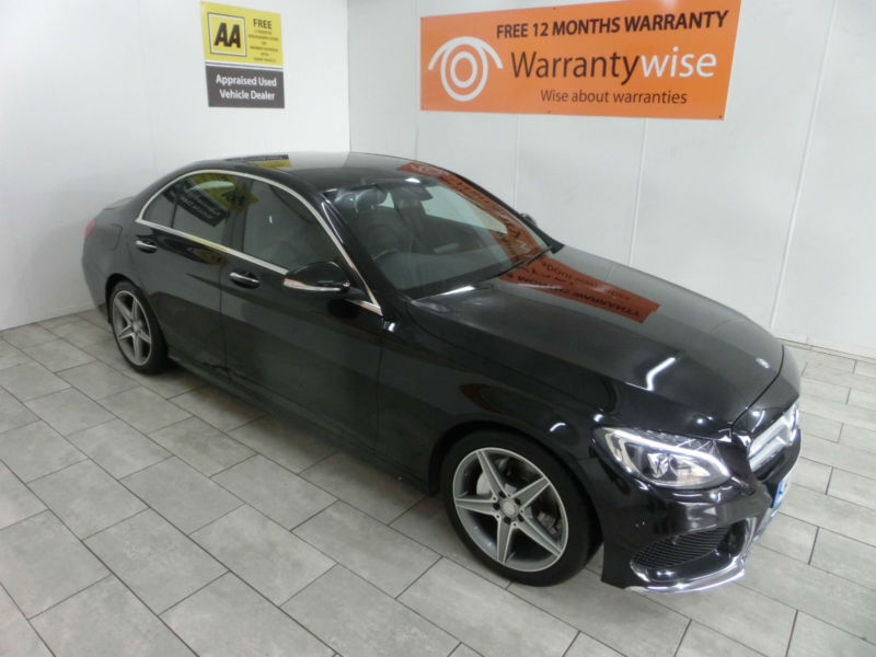 2015,Mercedes-C220 2.1CDI 168bhp auto AMG***BUY FOR ONLY £122 PER WEEK***