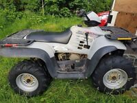 Polaris 500cc rev and go